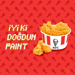 KFC MS PAINT by CaptainRedblood