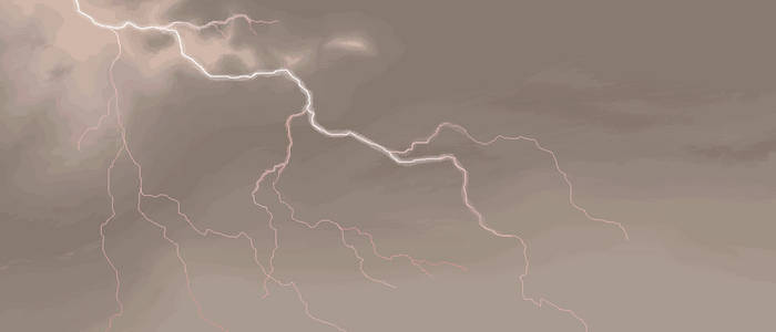 Stormy Sky in MS PAINT