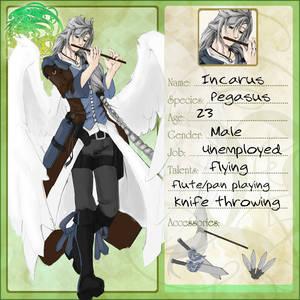 VolSa: Incarus character sheet
