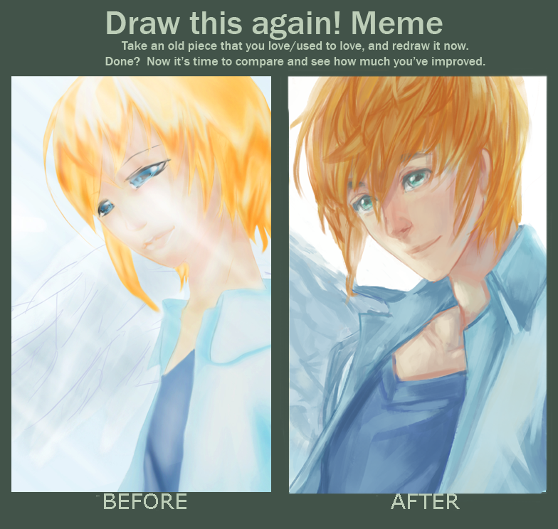 Draw This Again meme I by LaynaFeynreique