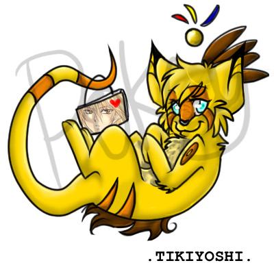 .TIKIYOSHI. by Pokcy