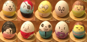 Don't trust Undertale trash with eggs