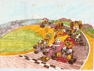 Super Mario Kart by Mosabsolum