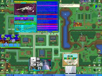 my desktop by Mosabsolum
