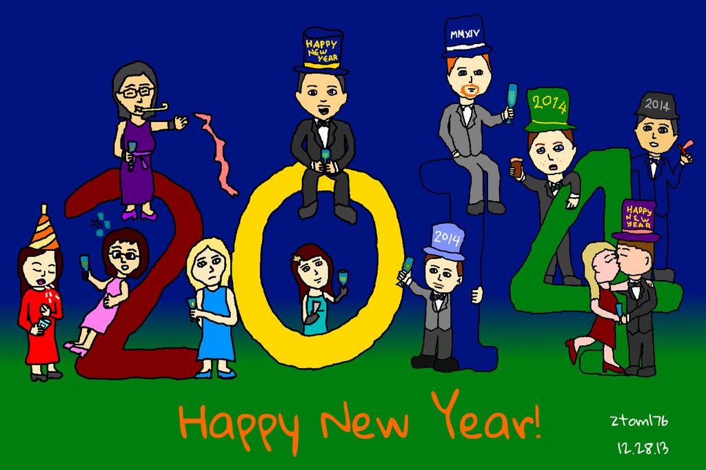 Happy New Year 2014 by ztom176