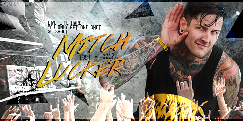 R.I.P. Mitch Lucker by KIMBAHH