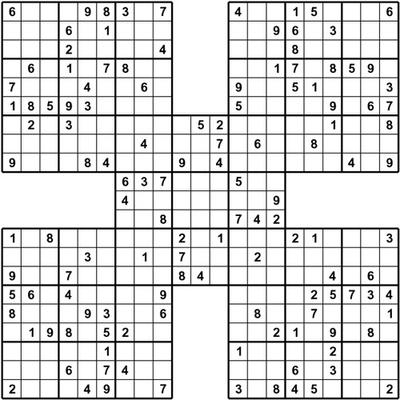 It's just an image of Satisfactory Printable Sudoku Puzzles Hard