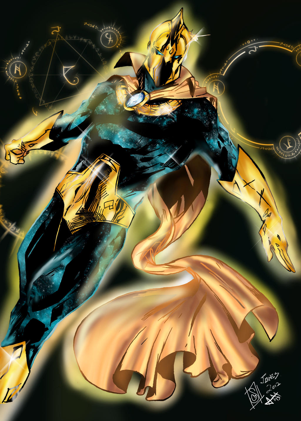 Dc Comics Fans : Dr fate by forty fathoms on deviantart