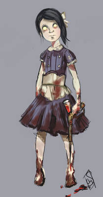 Inspired Sketches #5 - A Little Sister