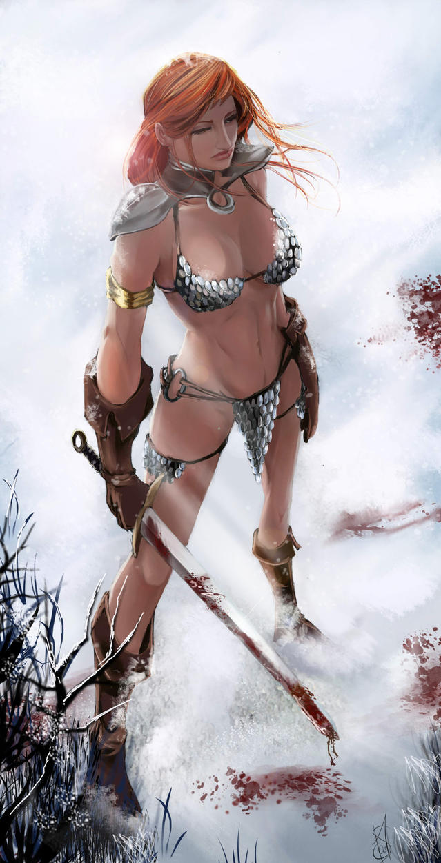 Red Sonja - The Things I've Done by Forty-Fathoms