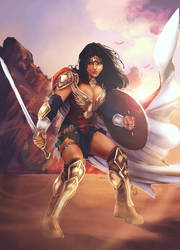 Wonder Woman - Warrior of Peace by Forty-Fathoms