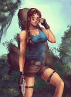 The Tomb Raider - Lara Croft by Forty-Fathoms