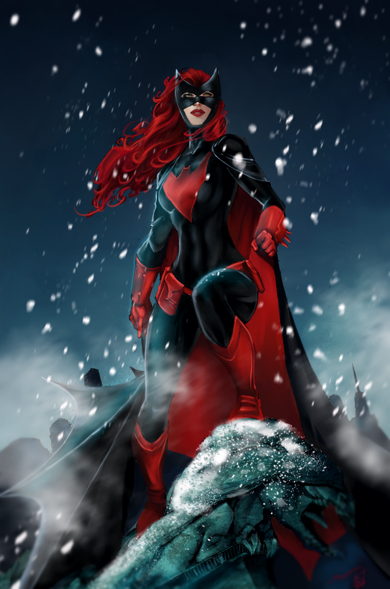 Batwoman by Forty-Fathoms
