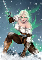 I Won't Be Stopped - Ciri (Witcher 3) by Forty-Fathoms