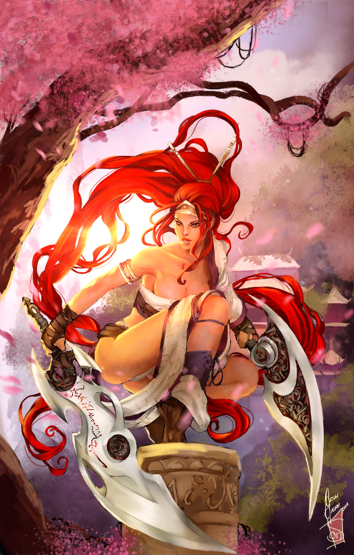 Nariko - Heavenly Sword by Forty-Fathoms on DeviantArt