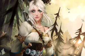 Ciri by Forty-Fathoms