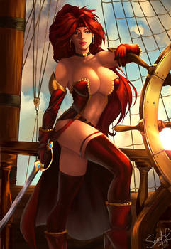 Red Monika