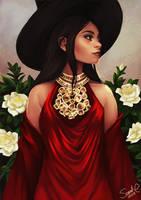 Gardenia Witch by Forty-Fathoms