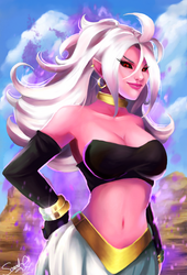 Android 21 by Forty-Fathoms