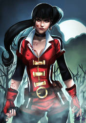 Vampirella by Forty-Fathoms