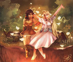 Best Friends Forever - Mavis and Zera