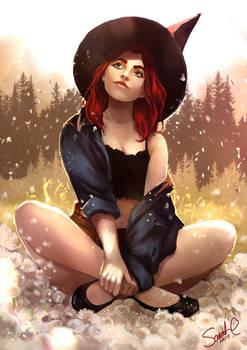 Dandelion Witch