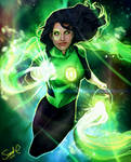 Green Lantern Jessica Cruz