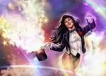 Zatanna - Mistress of Magic by Forty-Fathoms