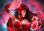 Scarlet Witch by Forty-Fathoms