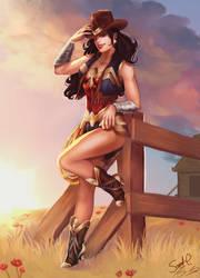 Wild West Wonder Woman