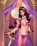 Dejah Thoris - Queen of Mars by Forty-Fathoms