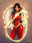 Wonder Girl - Donna Troy by Forty-Fathoms