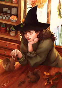 Acorn Witch