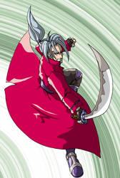Action manga hero by ericksama