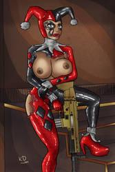 Bimbo X Harley Quinn Nude Version by KdTrueBone