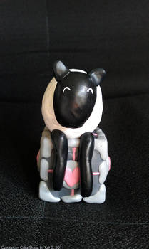Companion Cube Sheep