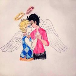 Two Angels by SarayuHolmes