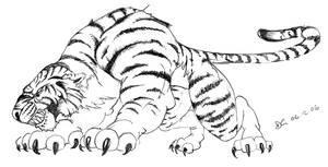 a Tiger by nastangels