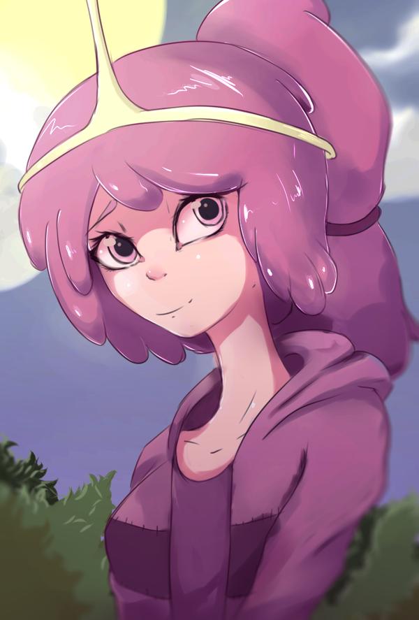Adventure Time: Princess Bubblegum by GearJee