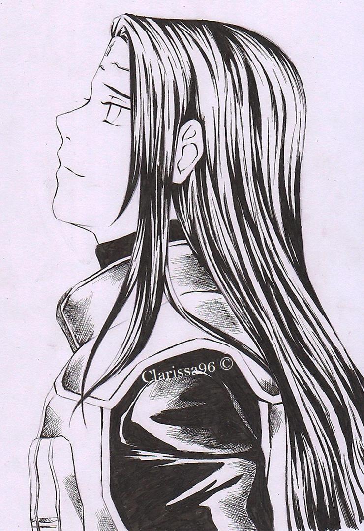 Neji- Fan Art by Clarissa96