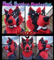 Kage's fursuit head