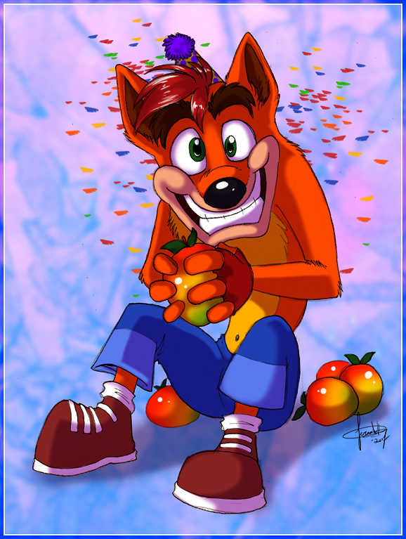 Birthday Bandicoot By Jezzkitty On Deviantart