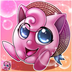 JigglyPuff icon - For Zozerozos by JezzKitty