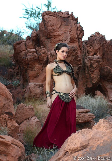 Desert Princess by scruffyrebel