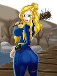 Fallout 4 fanart Female deller 111