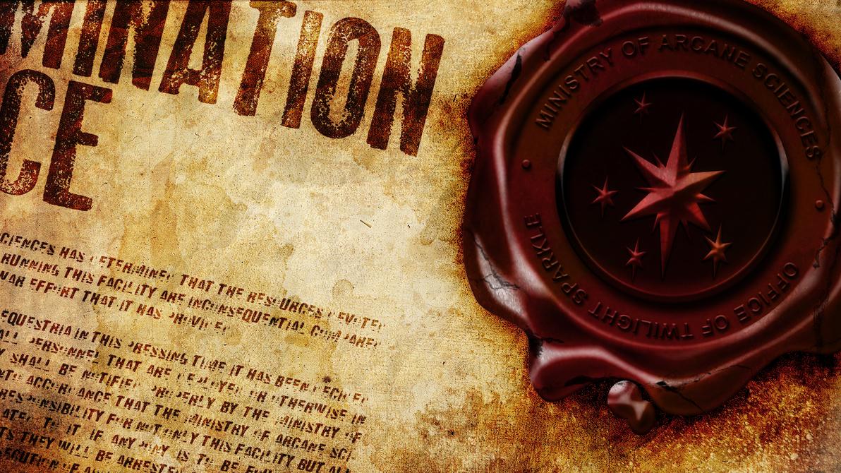 Termination Notice by Glitcher007