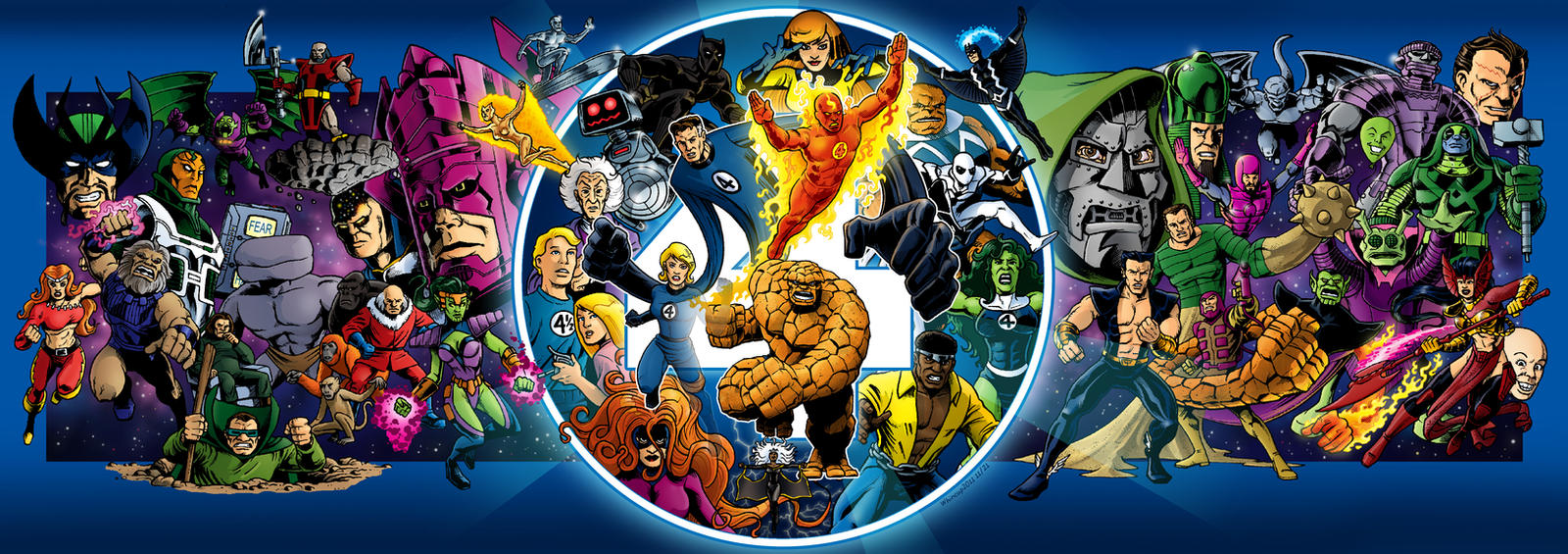 Imagenes de Calidad (no-anime) - Página 22 50_for_50___fantastic_four_by_66lightning-d4gwwlb