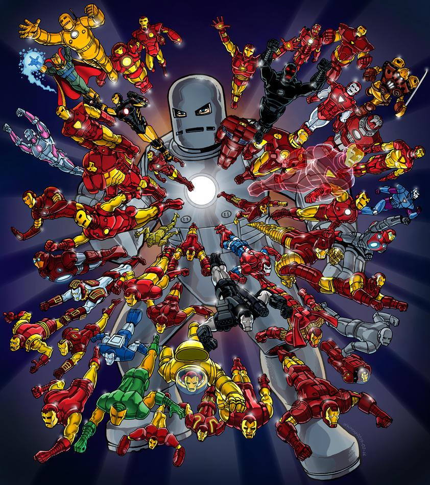 Iron Man By 66lightning On DeviantArt