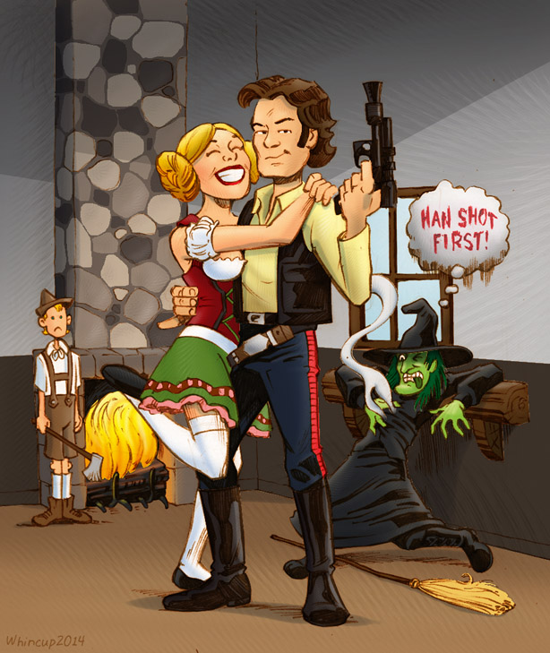 Hansolo and Gretel by 66lightning