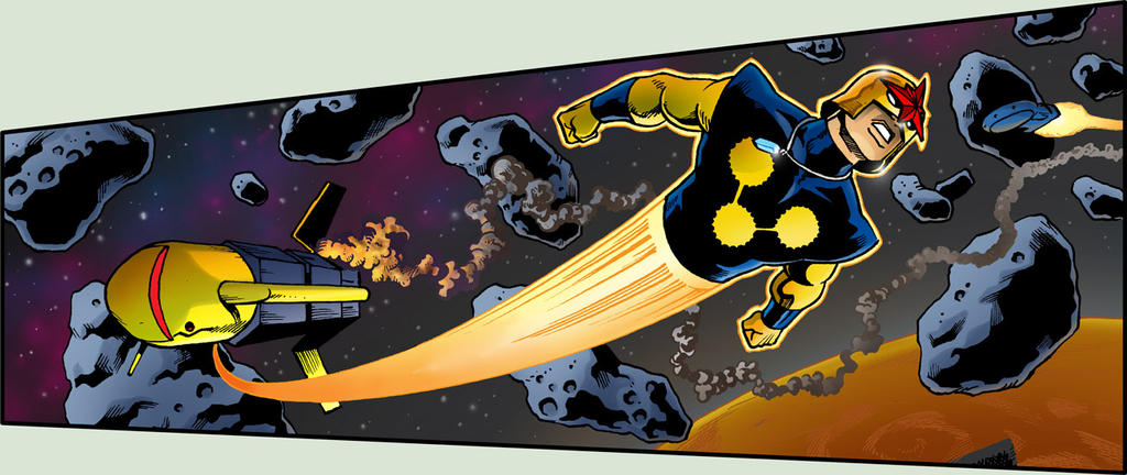 Nova in Space! by 66lightning